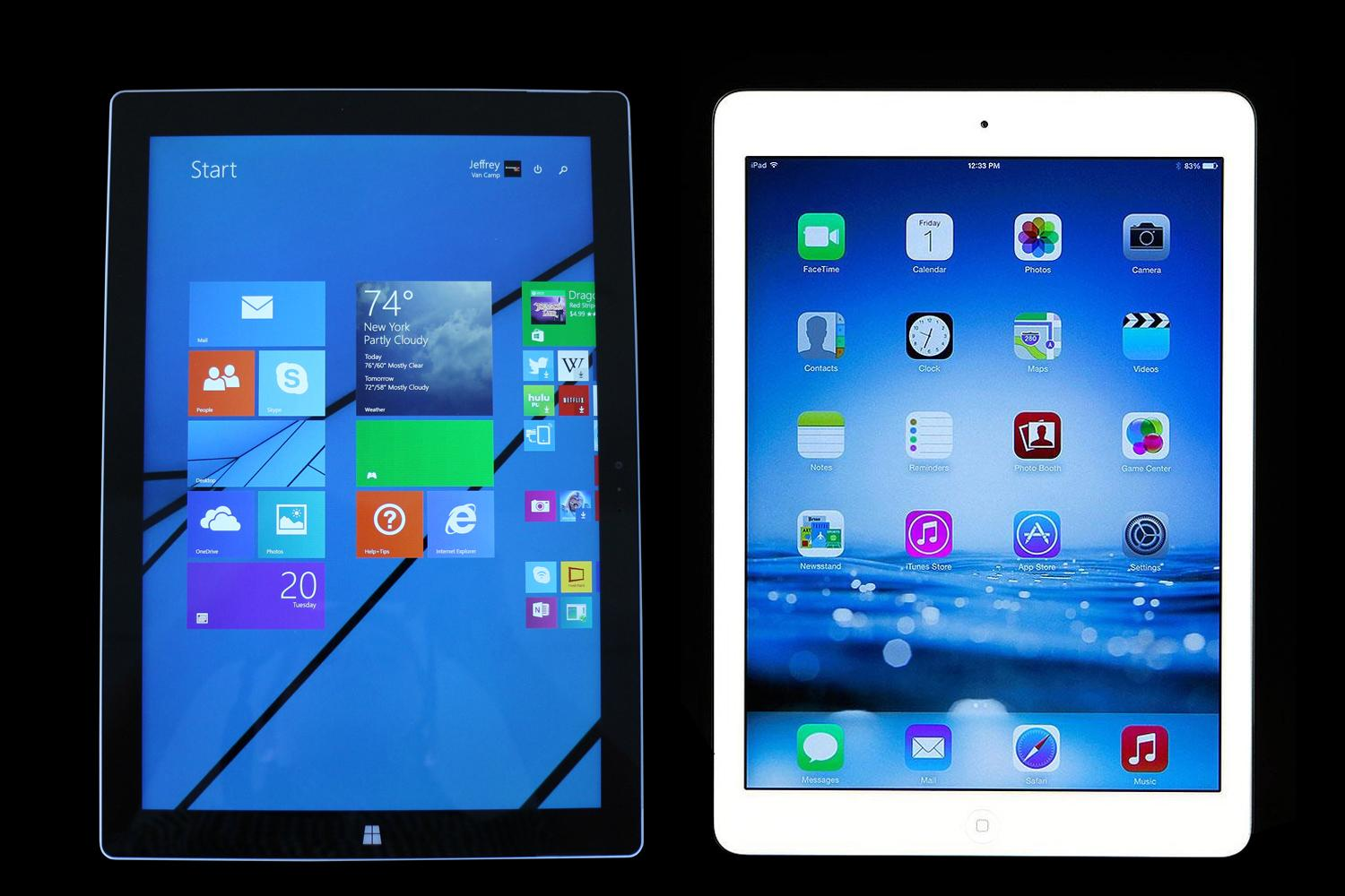Kindle Vs Sony Reader: Surface Pro 3 Vs. IPad Air: Spec Comparison