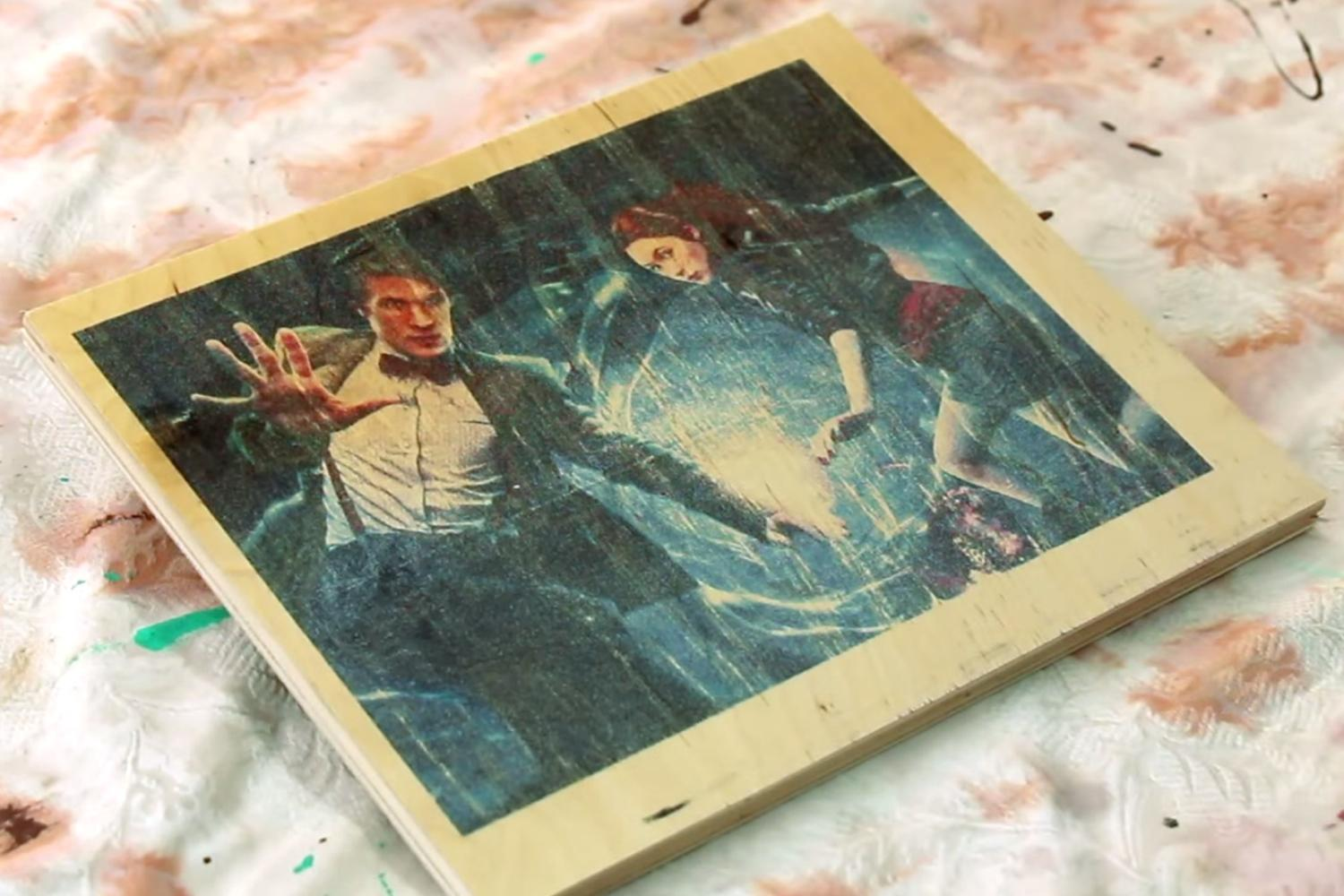 Diy Video Shows You How To Print On Wood With An Inkjet