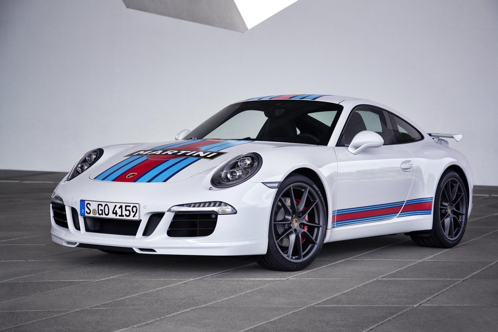porsche 911 carrera s martini racing edition arrives for. Black Bedroom Furniture Sets. Home Design Ideas