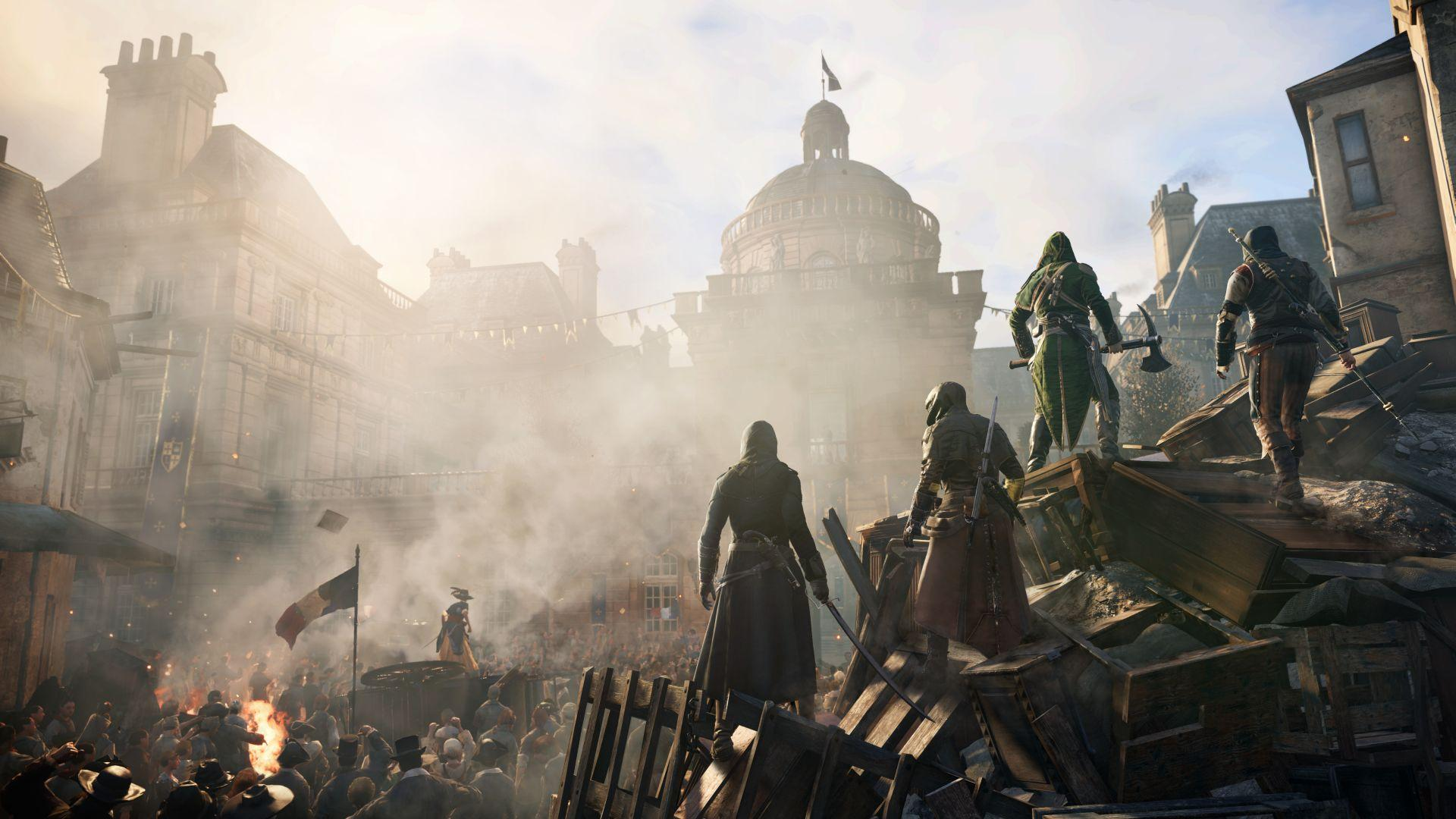 Assassins Creed Unity Test