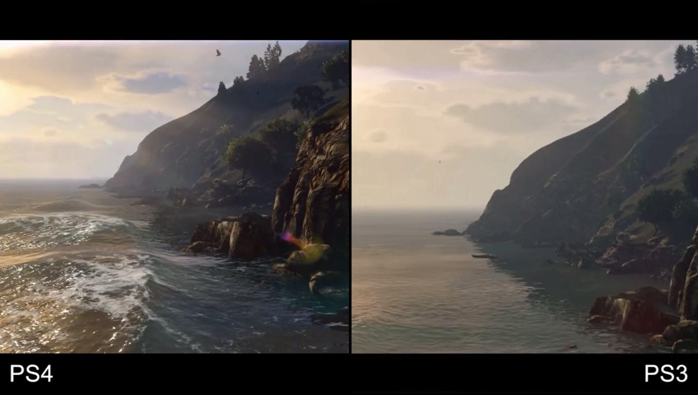 Grand Theft Auto 5 Comparison Video Ps3 Vs Ps4 Digital