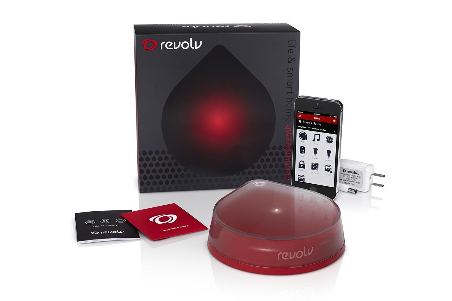 revolv smart home hub gets updated with new android app and nest compatibility digital trends. Black Bedroom Furniture Sets. Home Design Ideas