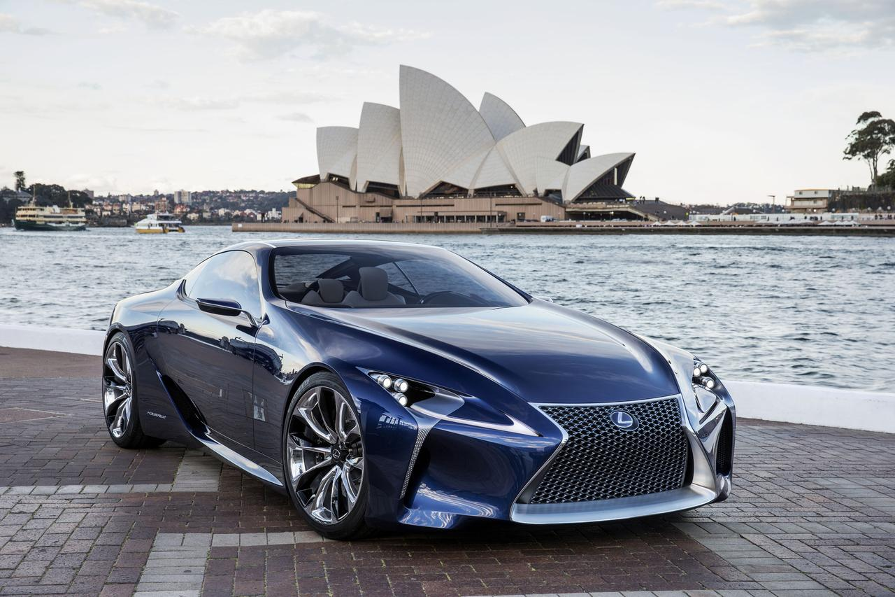 2017 lexus sc to be based on lf-lc concept | digital trends