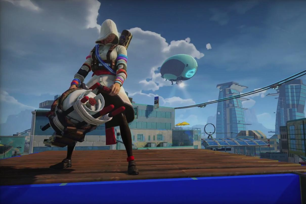 Sunset Overdrive Lets You Be A Female Assassin Or Anyone Else Digital Trends