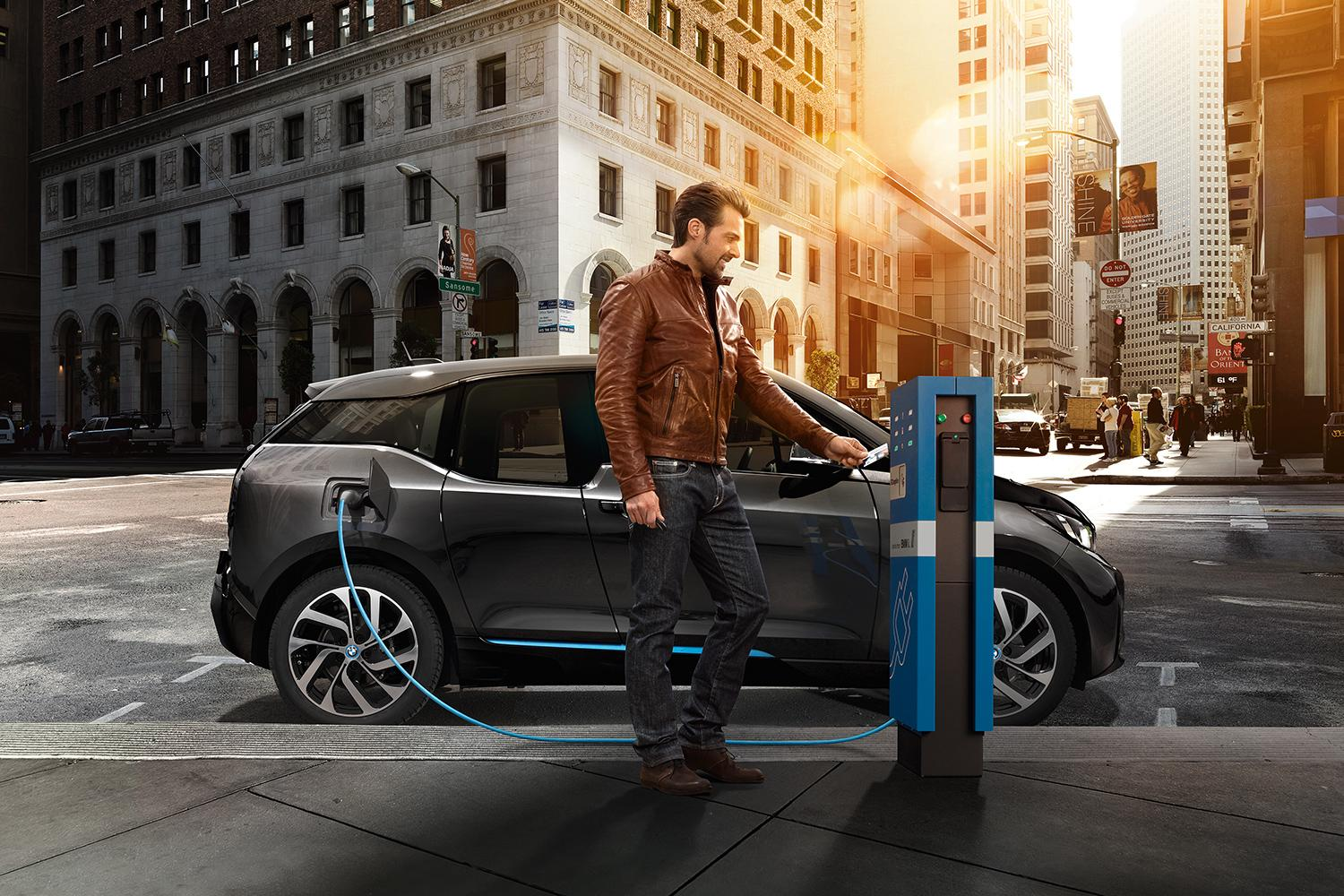 Bmw I3 Electric Car Charging Autos Gallery