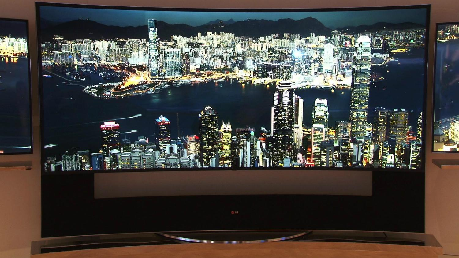 LG Releases Curved 105-inch 5K Ultra-HD TV