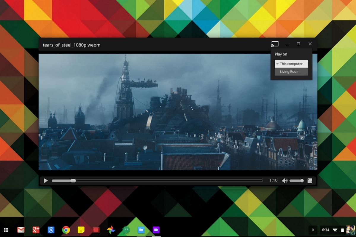 Google Adding Chromecast Video Streaming To Chrome Os