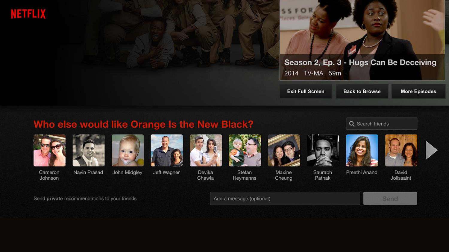 Netflix updates makes facebook sharing feature more - Home shows on netflix ...