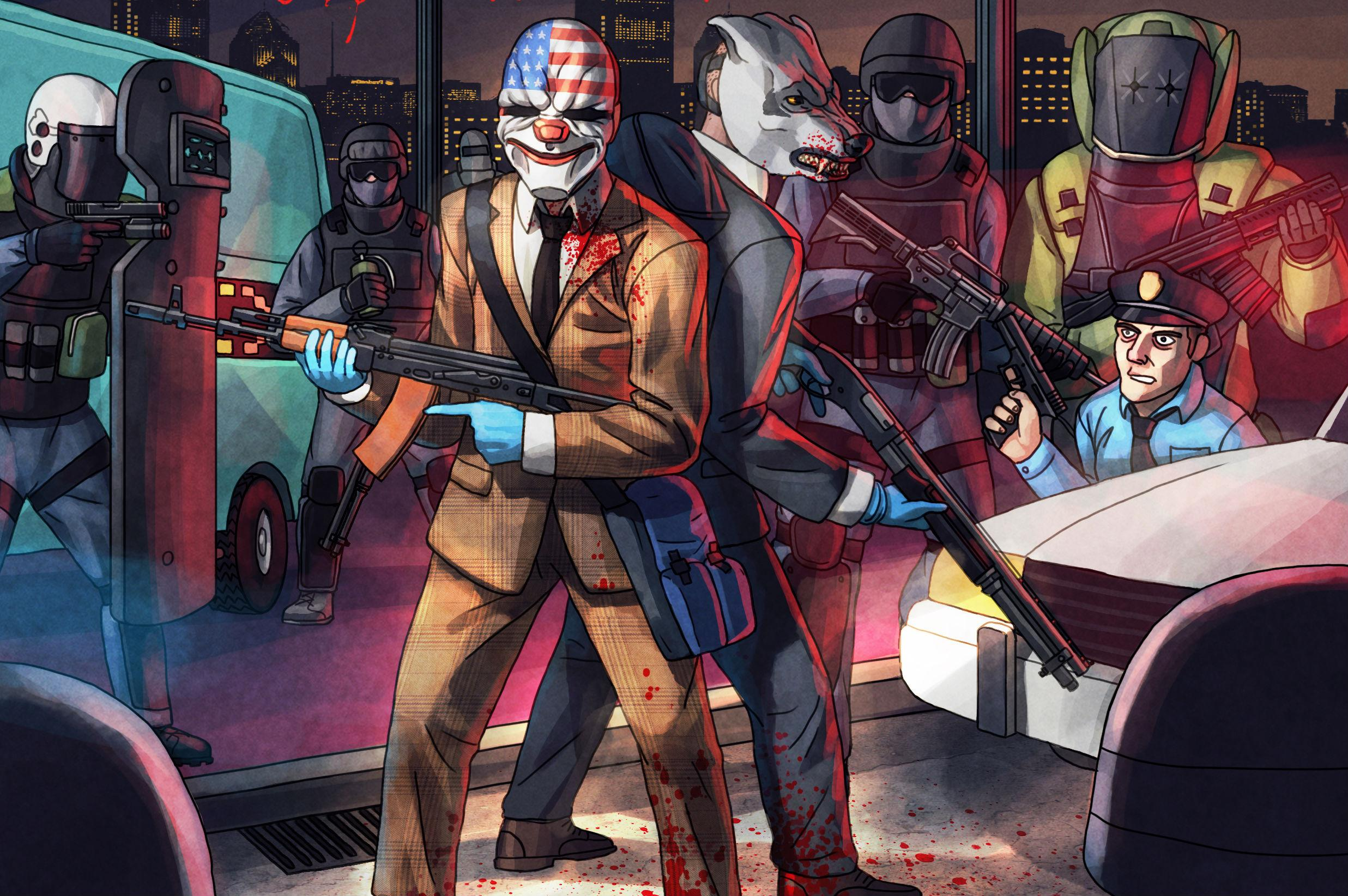 Get Surreal In Payday 2: Hotline Miami DLC