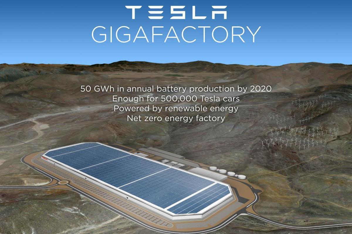 Tesla Gigafactory Will Be Located In Nevada Digital Trends