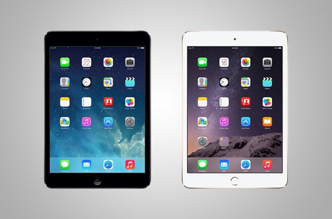 iPad Mini 2 vs. iPad Mini 3: In-Depth Comparison | Digital ...