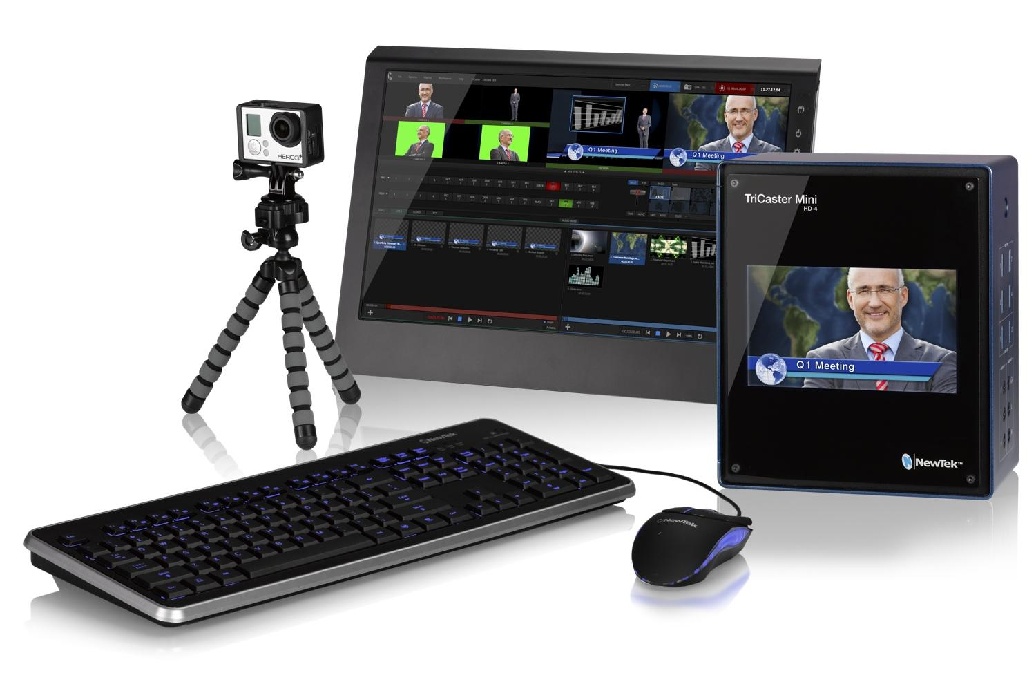 Newtek Tricaster Mini Puts Pro Tv Production Into A Small