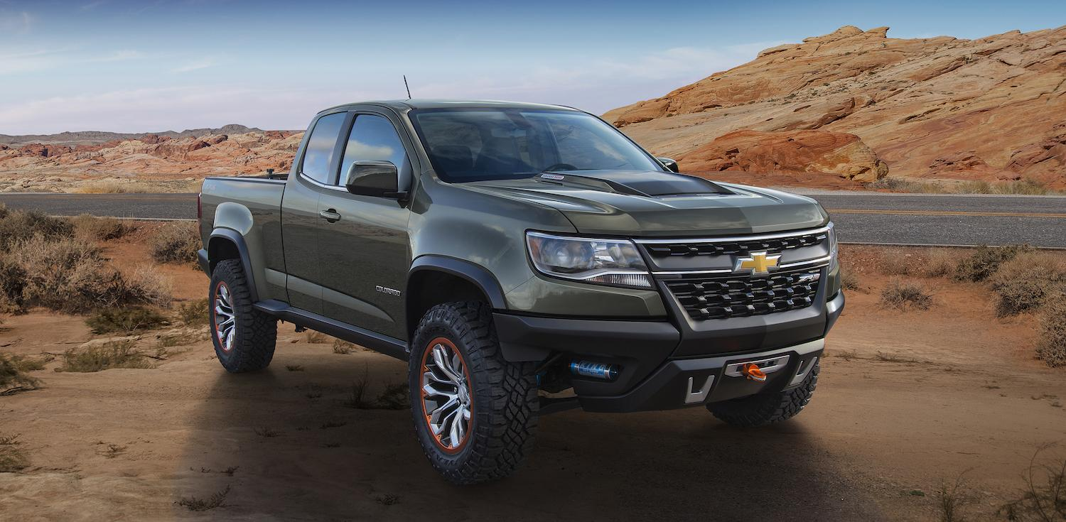 Truck chevy concept truck : Chevrolet Colorado ZR2 Concept | Official specs and pictures ...