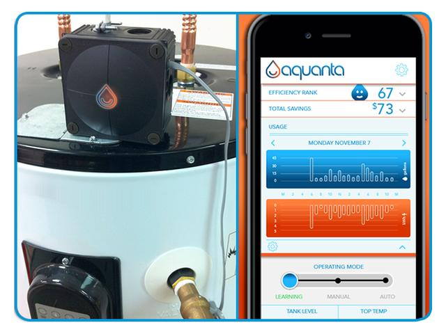 Sunnovations Aquanta Is A Smart Device For Water Heaters