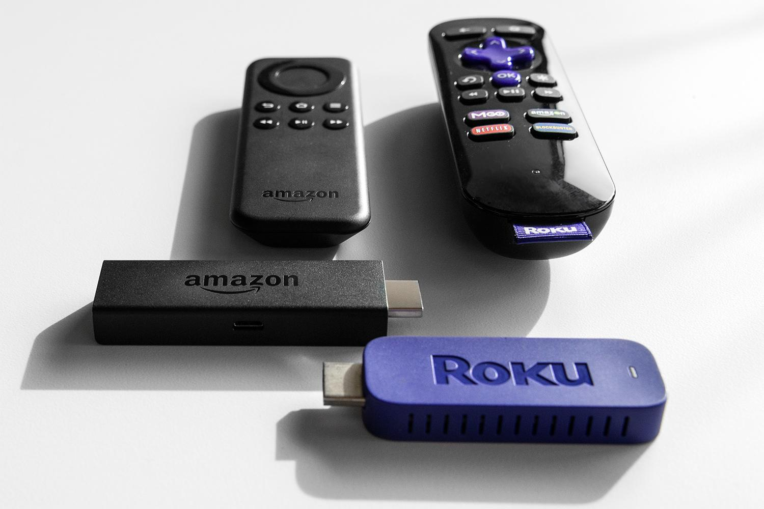 Amazon Fire Tv Stick Vs Roku Streaming Stick Digital Trends