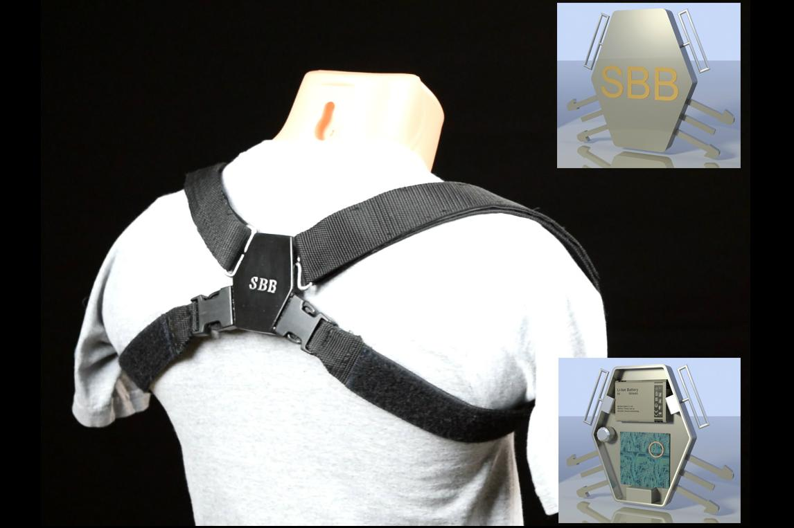 Smart Back Brace Helps Your Posture By Nagging You With