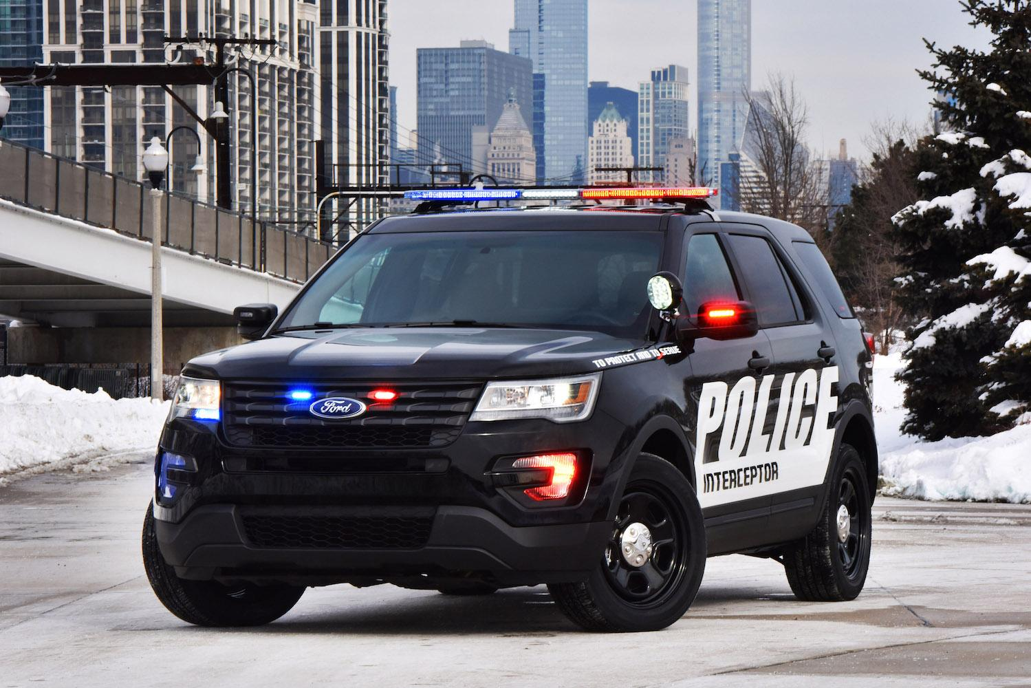 Ford Chevy And Dodge Square Off In Michigan Police Car