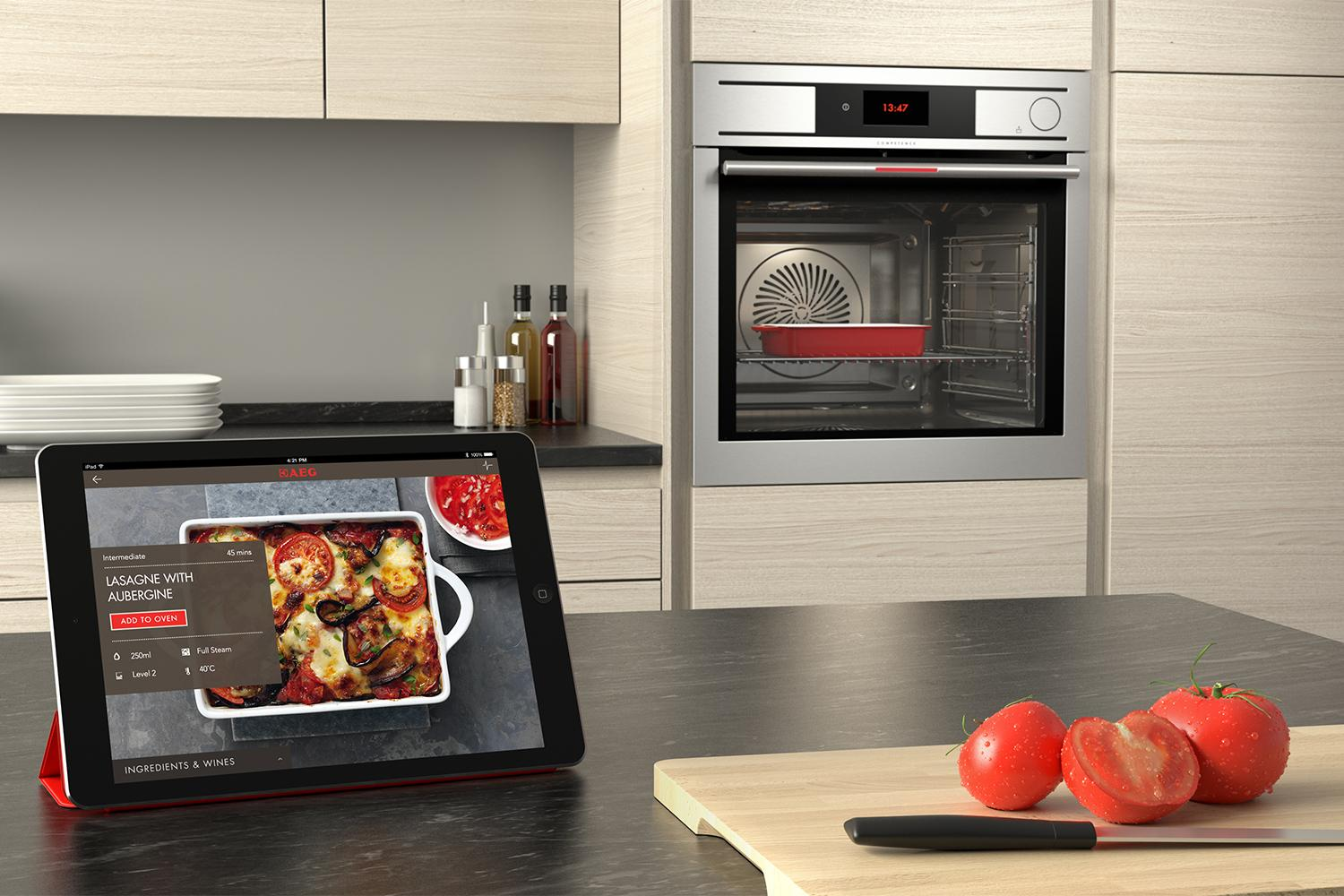 Watch What You Eat New Electrolux Oven Has A Cam To