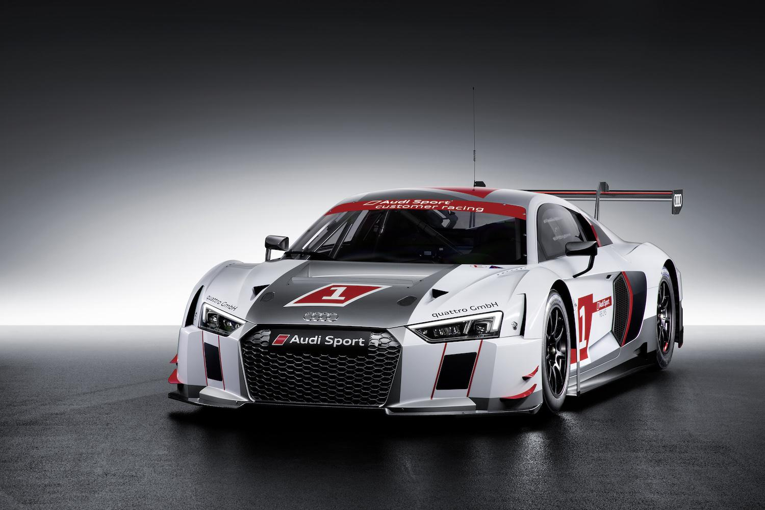 safety lightness and performance is what the new audi r8 lms race car is all about. Black Bedroom Furniture Sets. Home Design Ideas