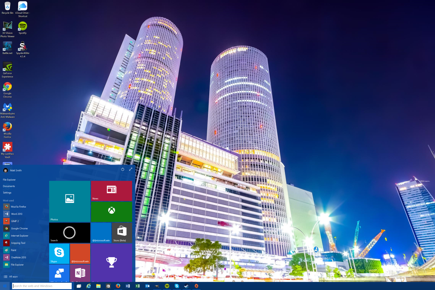 Technology Management Image: Windows 10 Technical Preview Updated To Build 10041 With