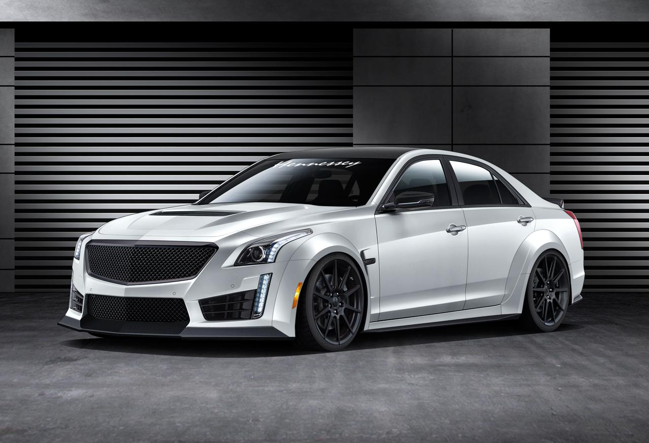 hennessey s tuned 2016 cadillac cts v aims for 240 mph thanks to 1 000 horsepower. Black Bedroom Furniture Sets. Home Design Ideas