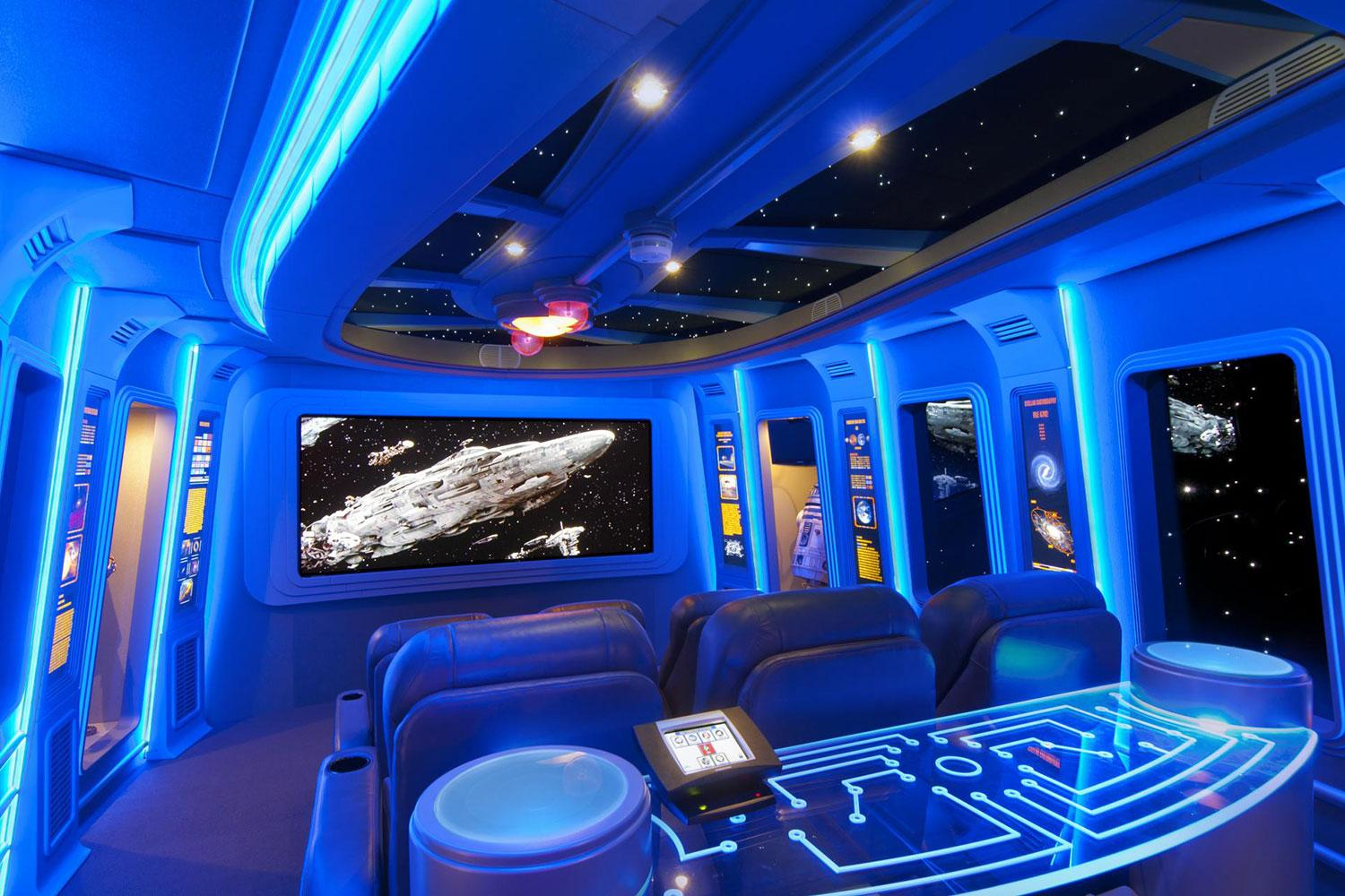 Star Wars Themed Bedroom Pics Of The Best Star Wars Inspired Home Theaters