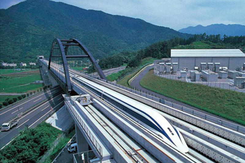 Speed Test Frontier >> Japan just crushed the high speed rail record with a 366 MPH maglev train