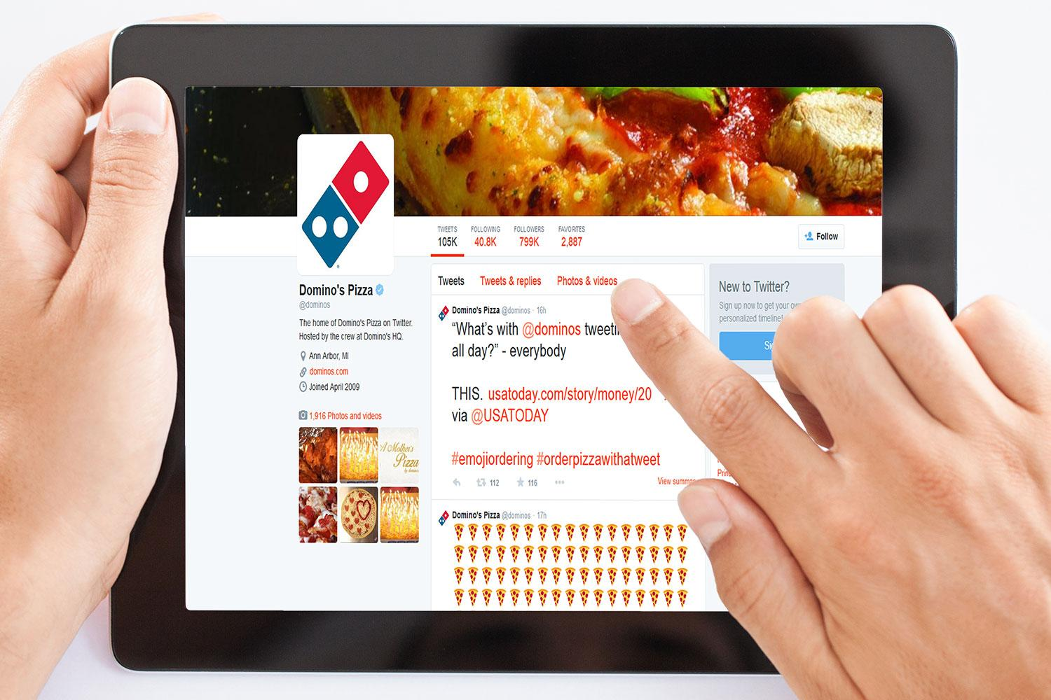 Soon you'll be able to order a pizza by tweeting emoji at ...