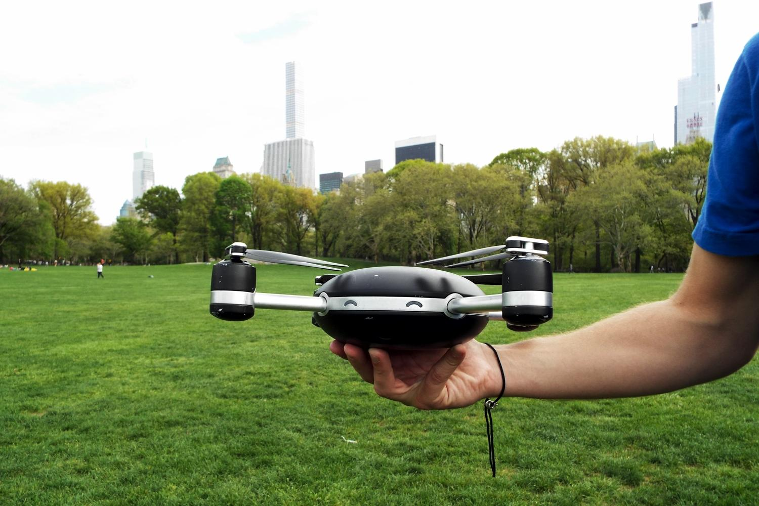 Lily isn't just a quadcopter, it's an autonomous personal ...