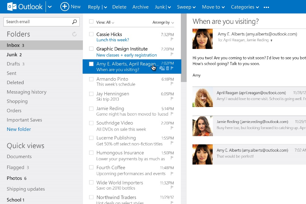 Microsoft's Outlook.com Is Being Replaced By Office 365