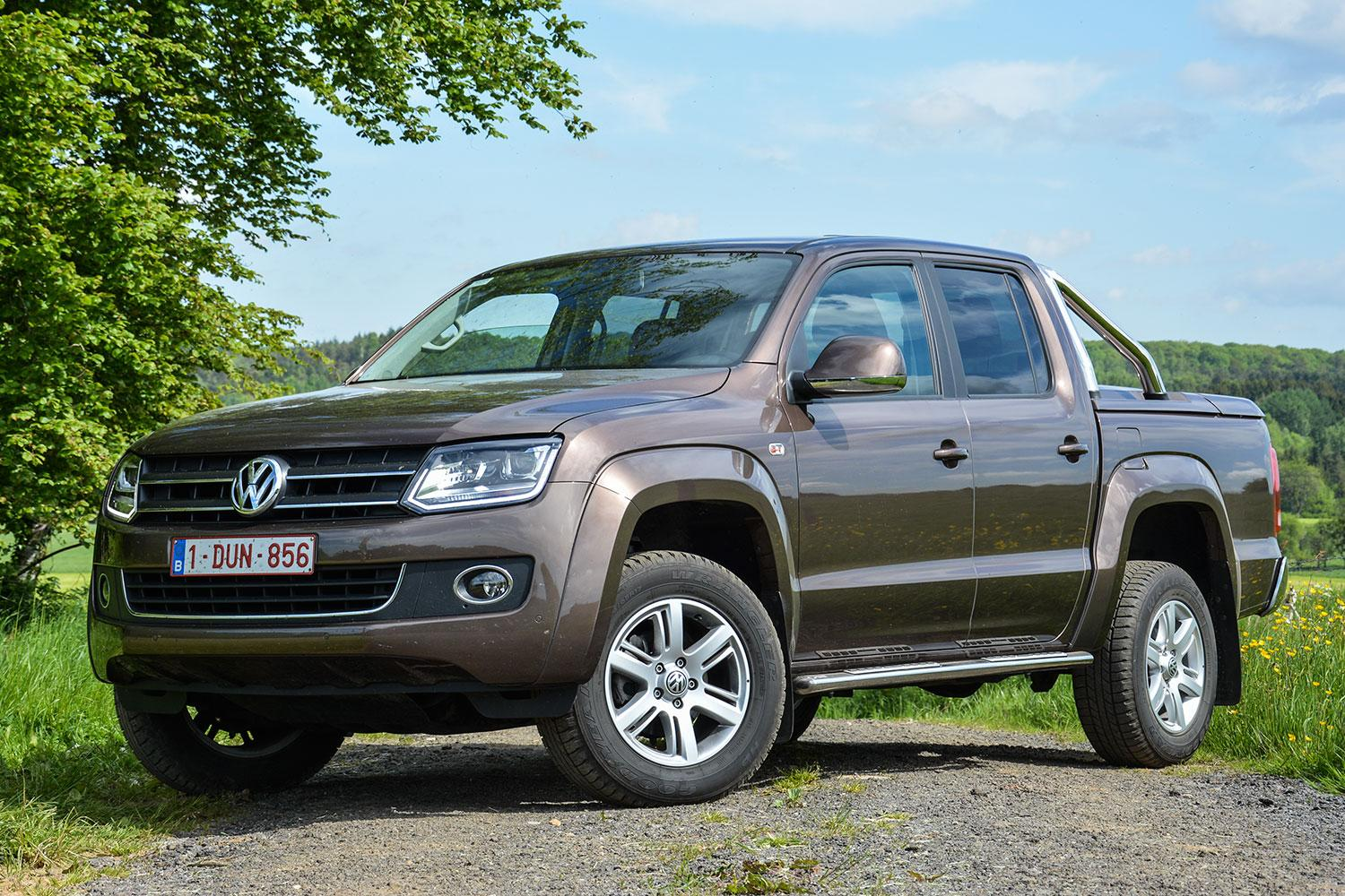 the rugged amarok pickup could help volkswagen break into a new segment. Black Bedroom Furniture Sets. Home Design Ideas