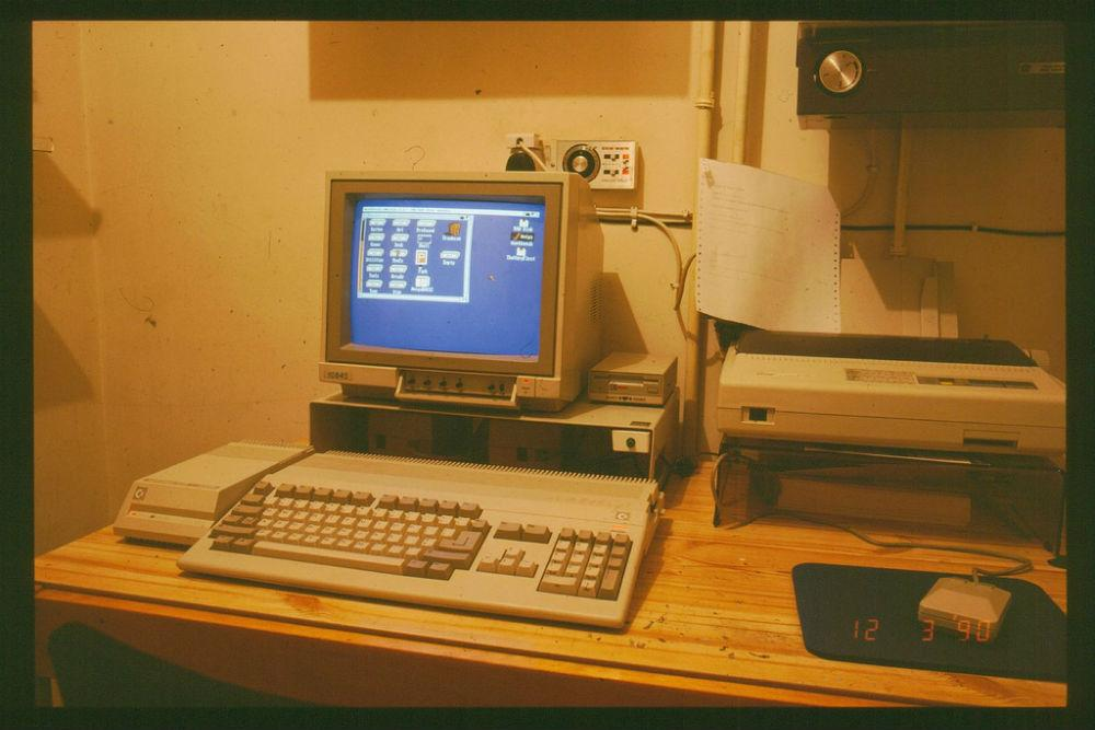 There S A 30 Year Old Commodore Amiga Still Controlling