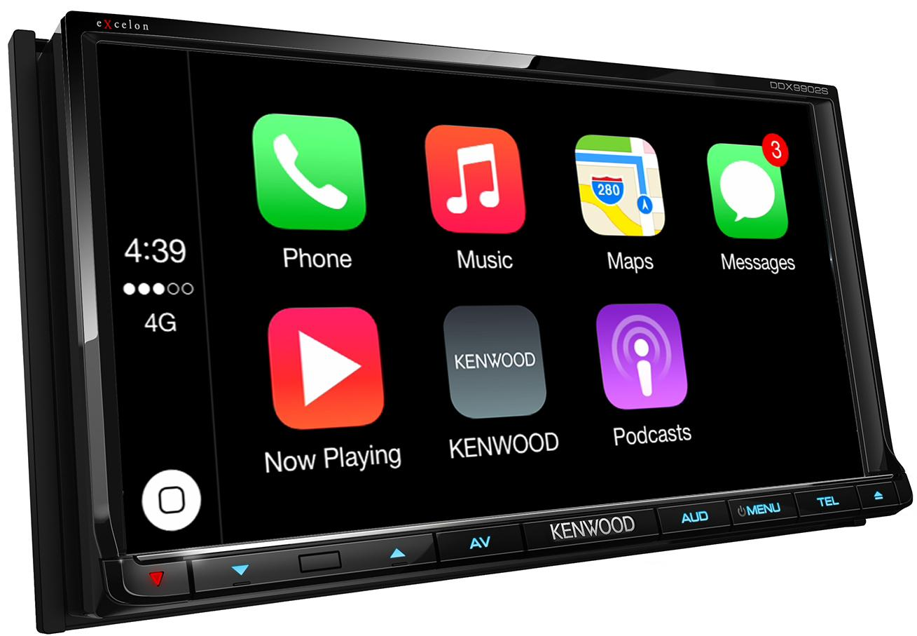 ship it kenwood receivers with android auto and apple carplay are headed for retailers. Black Bedroom Furniture Sets. Home Design Ideas