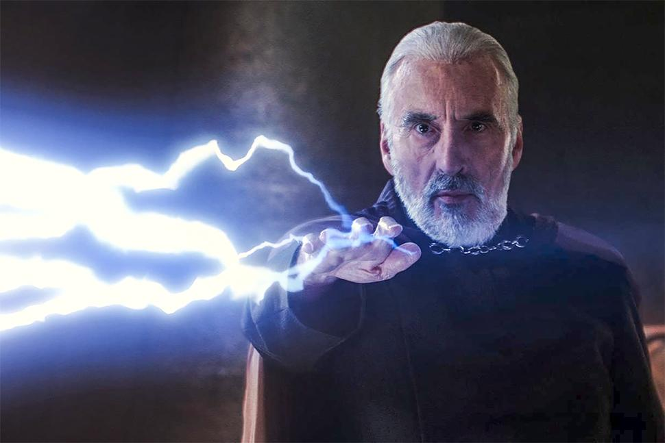 The Lord of the Rings and Star Wars actor Christopher Lee ...