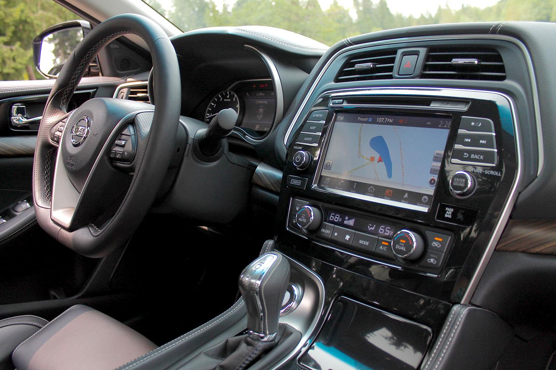 2016 Nissan Maxima Platinum Review Photos Specs More