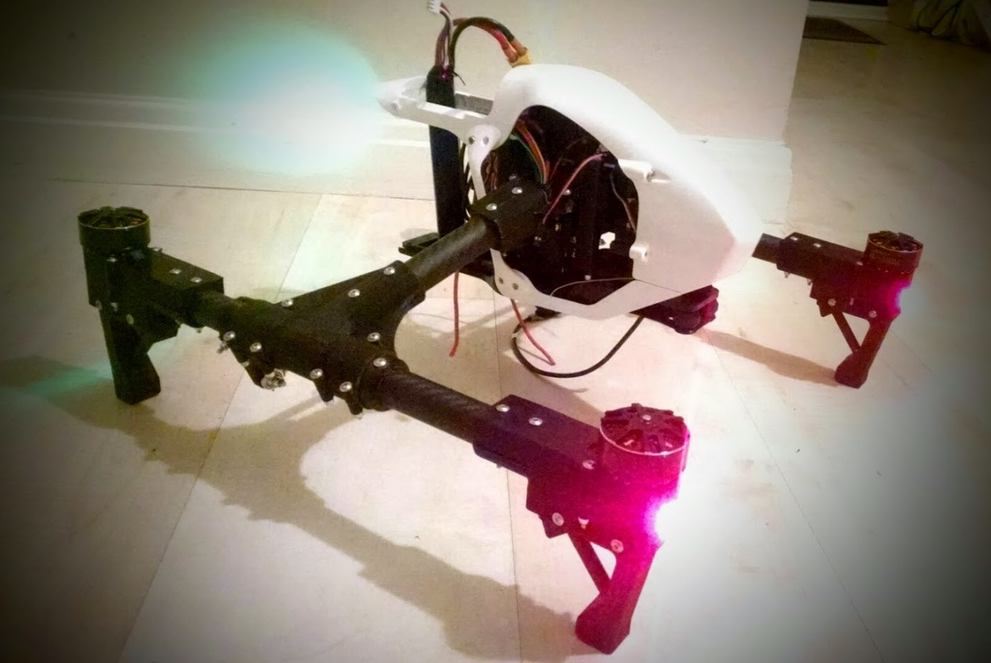 You Can Now 3d Print A Perfect Clone Of Dji S Inspire 1