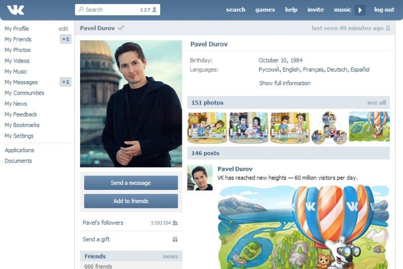 Vkontakte dating site