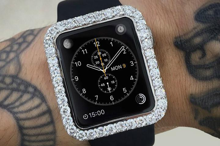 Apple Watch Diamond Bezel Amazon