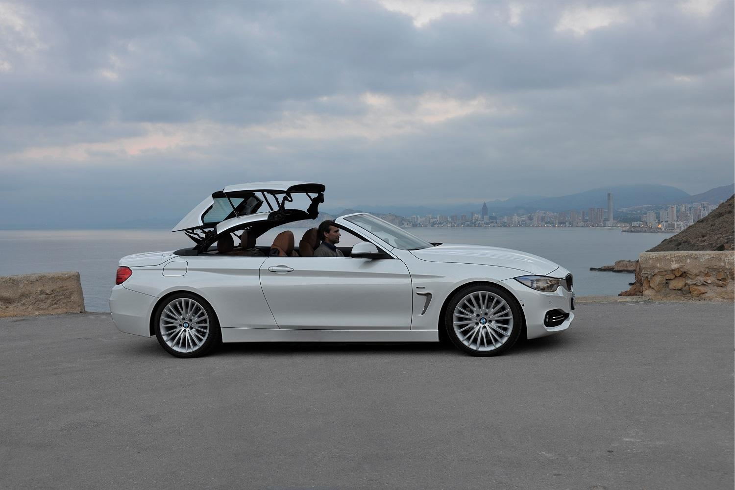 a cloth soft top could make the next bmw 4 series cabriolet lighter. Black Bedroom Furniture Sets. Home Design Ideas