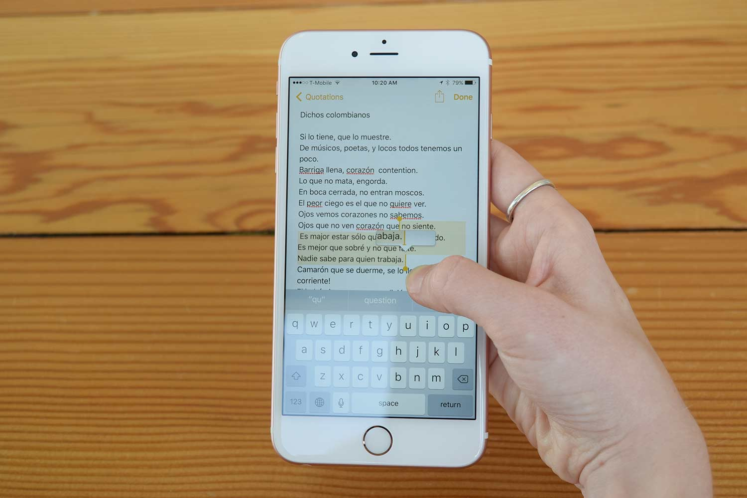 best alternative keyboards for the iphone and ipad digital trends. Black Bedroom Furniture Sets. Home Design Ideas