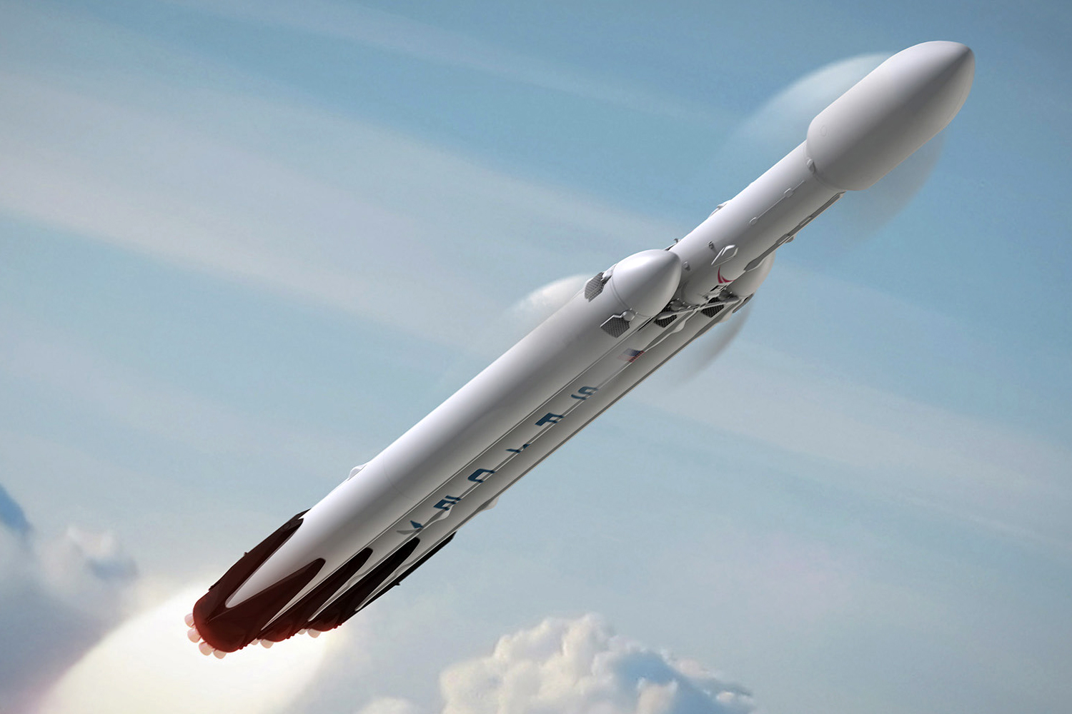spacex falcon heavy rocket - photo #17
