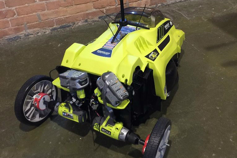 Three Brothers Create A Lawn Mower You Can Control Via Google