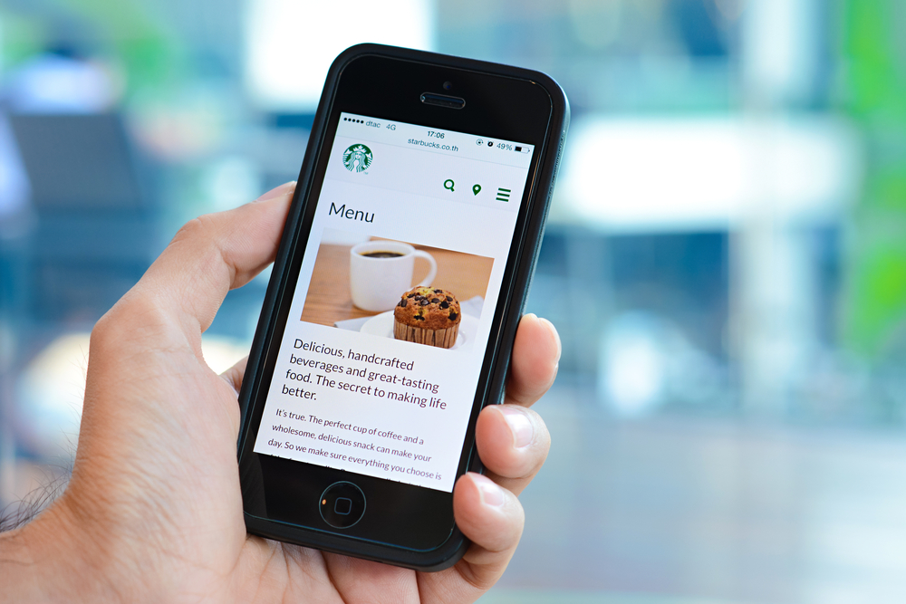 Starbucks Convenient In App Order Ahead Service Goes Live
