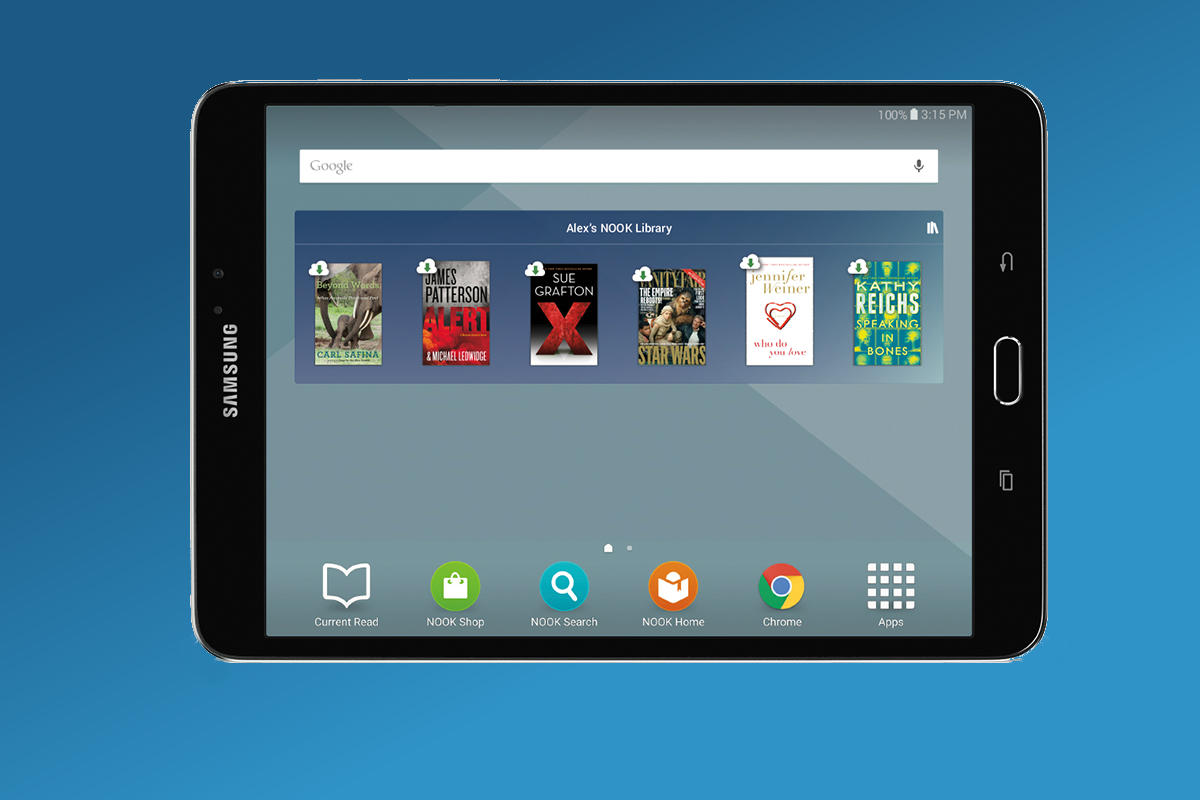 Barnes Amp Noble Introduce Samsung Galaxy Tab S2 Nook