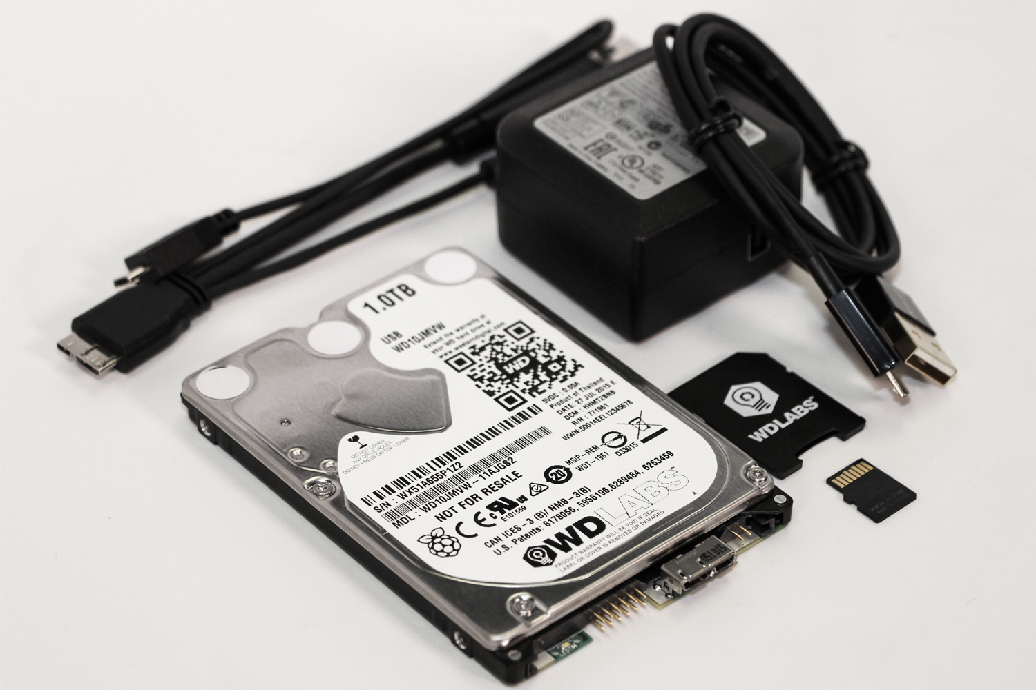 Pidrive Raspberry Pi Hdd From Western Digital Gives The
