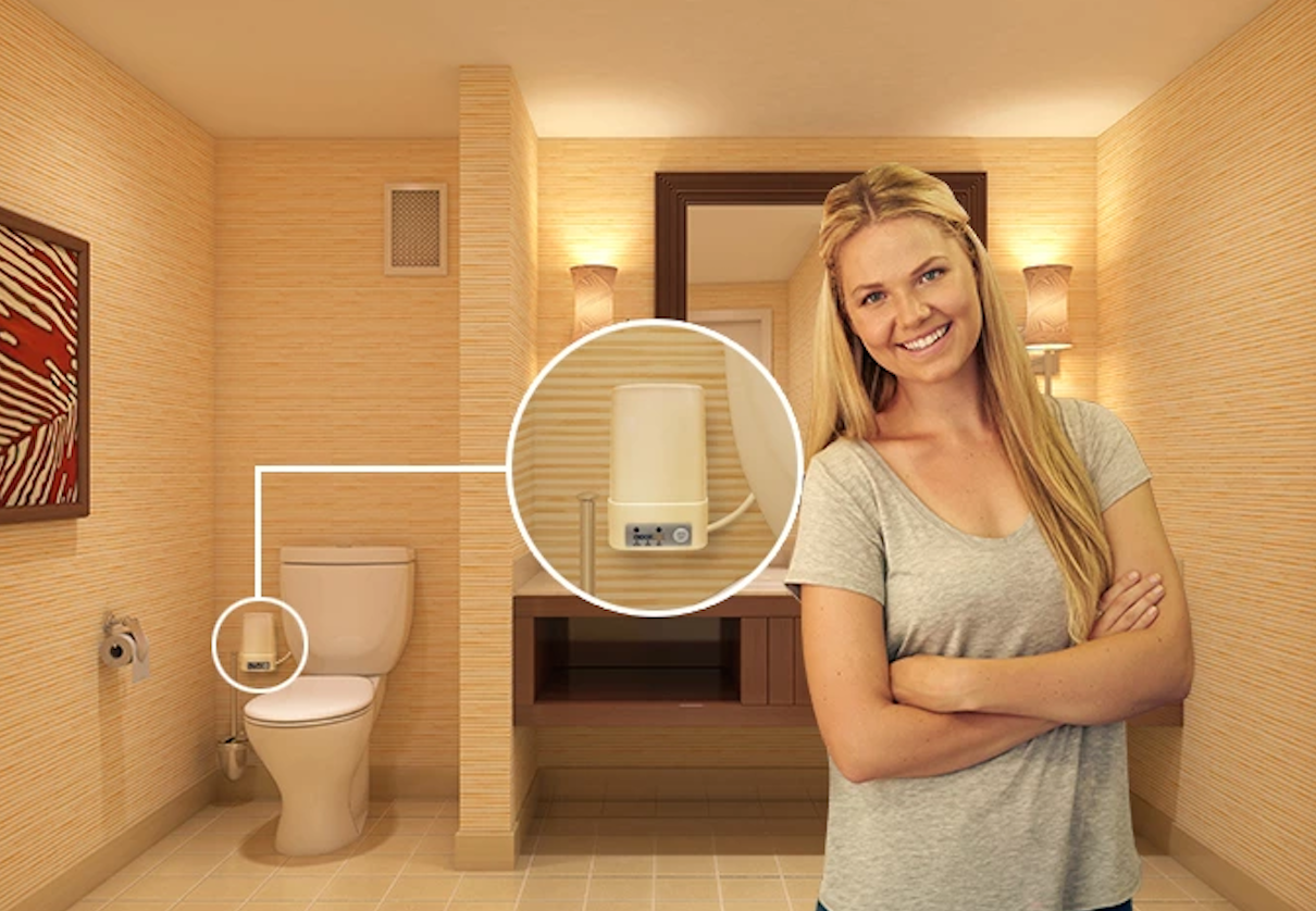 The Odorless A Toilet Odor Removal System Is The Most