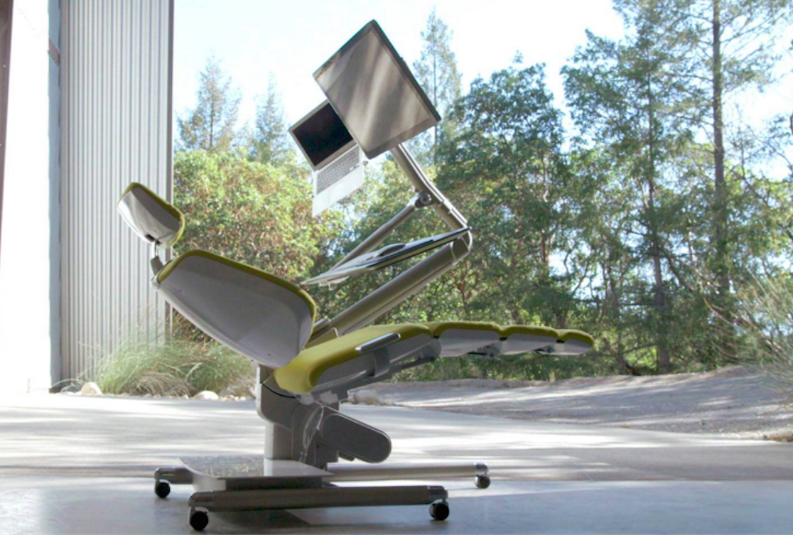 Sick Of Your Standing Desk Try Lying Down In An Altwork