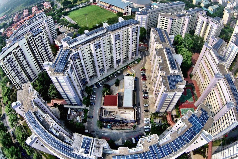 In Singapore Rooftop Solar Panels Will Provide 100