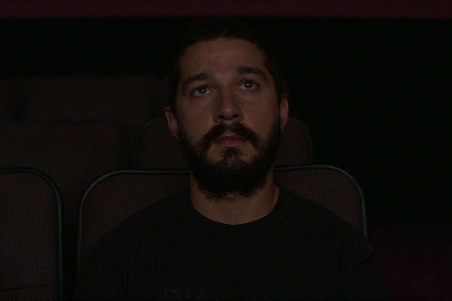 Art Or Insanity Shia Labeouf Watching All His Movies In