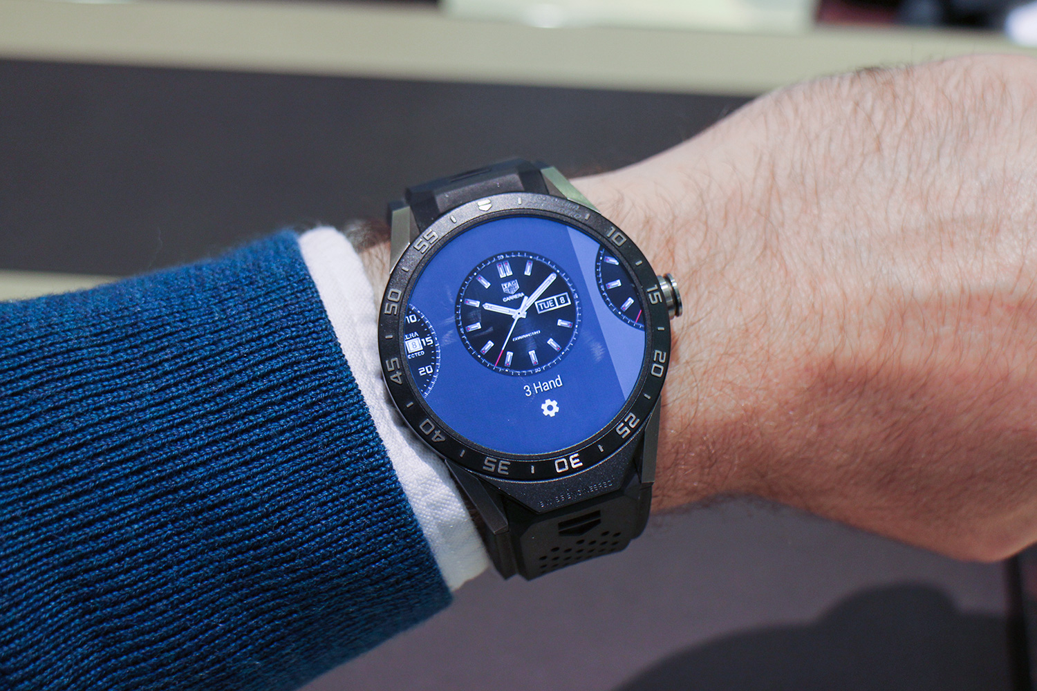 tag heuer will launch new connected smartwatch with. Black Bedroom Furniture Sets. Home Design Ideas